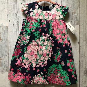 Carters Floral Dress Brand New